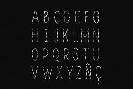 All contents are released under creative commons cc0. Deco Alphabet Svg Rhinestone Template 429986 Cut Files Design Bundles