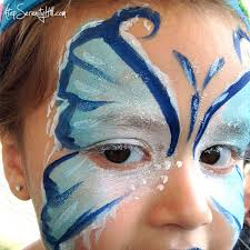 elsa erfly face painting atopserenityhill com facepainting frozen birthdayparty