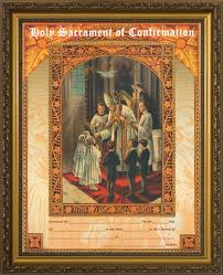art and gifts holy sacrament of confirmation framed catholic