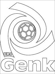 Kleurplaten Voetbal Genk Brekelmansadviesgroep