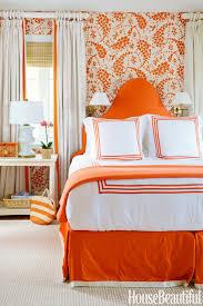 Orange Bedroom Curtains Burnt Orange Color Curtains Inspiration Rodanluo