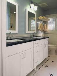white bathroom cabinets with granite. White Bathroom Cabinets With Dark Countertops | Sets Design Ideas Granite O
