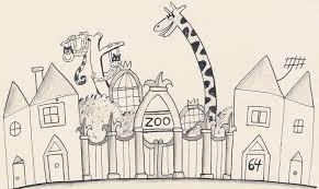 zoo drawing.  Zoo Early Drawing Of 64 Zoo Lanejpg Inside T