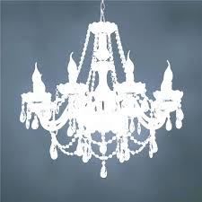 white drum shade chandelier with
