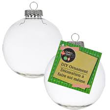 + Crafter's Square Paintable Clear Plastic Christmas Balls, ...