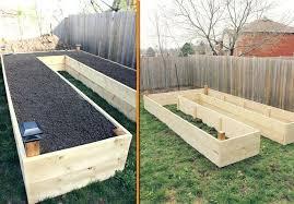 diy raised planter box raised planter box lower org design backyard with regarding inspirations diy raised
