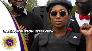 Sasha Johnson On UK Race Soldiers, Banned From London & Biased Mzungu Media  Against Activist - YouTube