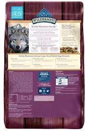 Blue Buffalo Large Breed Puppy Feeding Chart Blue Buffalo Wilderness Rocky Mountain Grain Free Natural Bison High Protein Recipe Adult Large Breed Dry Dog Food
