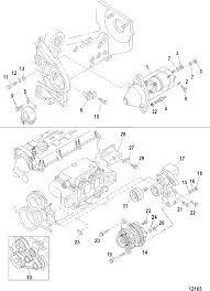 Starter and alternator