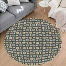 rug under round dining table best of nalahome modern flannel microfiber non slip machine
