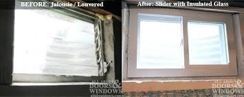 replace door with window install garage door window inserts