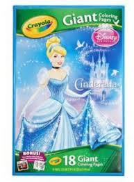 Crayola Disney Princess Giant Coloring Pages Souq Uae