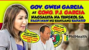 GOV GWENDOLYN GARCIA AT CONG PJ GARCIA NAGSALITA NA TUNGKOL SA PAGP@NAW NG  KANILANG DALAWANG KAPATID - YouTube