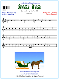 Here are a few it's awesome to put those basic chords to use and see them first hand! Jingle Bells For Piano Short Version Free Sheet Music