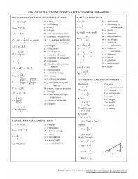 physics equations 2