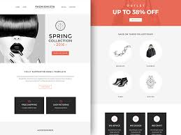 Free Download Newsletter Templates Fashionista Newsletter Template Sketch Freebie Download Free