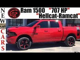 2018 dodge hellcat truck. brilliant dodge new ram 1500 truck hellcatpowered 707 hp u0027ramcatu0027 for 2018 dodge hellcat truck