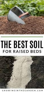 best soil for raised bed vegetable