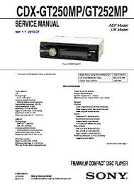 solve sony cdx gt21w problem jzgreentown com Sony Car Stereo Wiring Diagram sony cdx gt25 wiring diagram wiring diagram and schematics