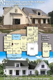 northwest contemporary house plans best of plan hz modern farmhouse plan with bonus room