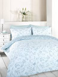 com signature home french bird toile duvet cover set with pillowcases blue king size by signature home home kitchen
