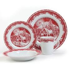 48 best Christmas Dinnerware images on Pinterest | Christmas china ...
