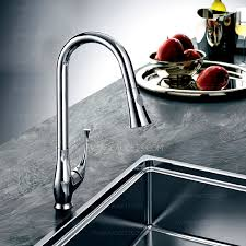 high end chrome vessel mount pullout kitchen sink faucets