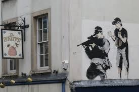 Resultado de imagen para imagenes del último Banksy