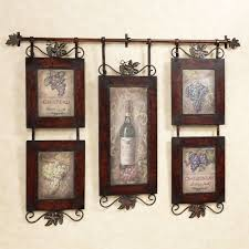 oil painting five frames dark brown hanging emilion wine wall art classic design home decorating metal on metal wall art picture frames with wall art toop ten gallery wine wall art wine metal wall art metal