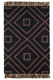 seaside cottage rugs mali black indoor outdoor rug