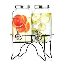 beverage dispenser with spigot and stand glass water dispenser with stand glass drink dispenser with spigot