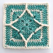Northern Diamond Square pattern by Torun Johansson - Ravelry