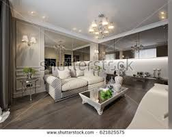 area mirror tables for living room. modern classic new traditional living room interior design with gray brown glossy chrome furniture tv area mirror tables for e