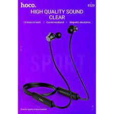 Tai Nghe Thể Thao HoCo ES29 Graceful - Tai Nghe Bluetooth 5.0 choàng cổ  Chính Hãng Hoco - Fox Store chính hãng 230,000đ