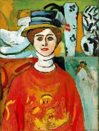 the girl with green eyes 1908 henri matisse
