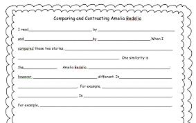 essay outline template ga comparison and contrast essay outline template full