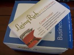 Vistaprint 250 Free Business Cards Shipping Living Rich With