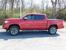 2017 Used Toyota Tacoma Limited Double Cab 5' Bed V6 4x4 Automatic ...