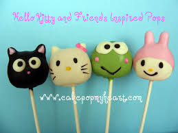 Cake Pop My Heart Hello Kitty And Friends
