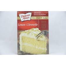 Duncan Hines Lemon Premium Cake Mix 515g