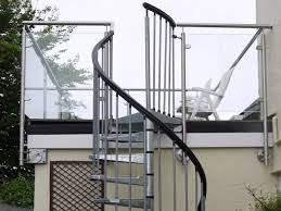 Spiral Staircases  balcony steps