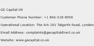 ge capital customer services ge capital uk number ge capital uk customer service phone number