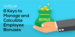how to calculate bonuses for employees