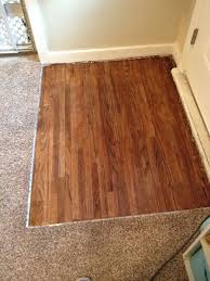 picture of how to refinish your hardwood floor under carpet