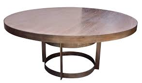 modern dining table round fresh round dark brown varnished extendable dining table with four
