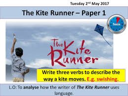 aqa english language paper the kite runner by rnaughton  aqa english language paper 1 the kite runner by rnaughton teaching resources tes