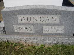 """Charles Wesley """"Charlie"""" Duncan (1902-1987) - Find A Grave Memorial"""