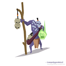 witch doctor dota2 by ahtixpict on deviantart