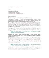Employee Termination Letter Magnificent Termination Of Employment Template Voipersracingco
