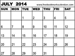 Blank July 2015 Calendar To Print Calendar